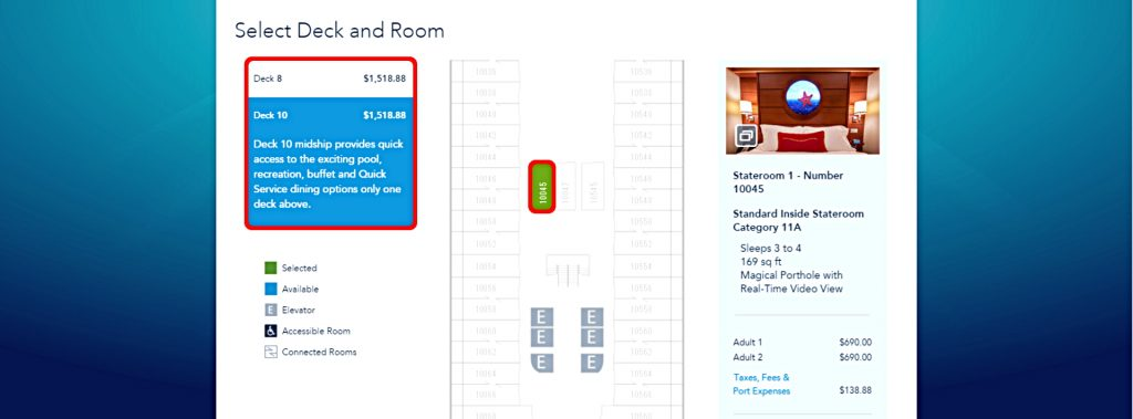 dcl-reservation-screenshot-stateroom-deck-and-room