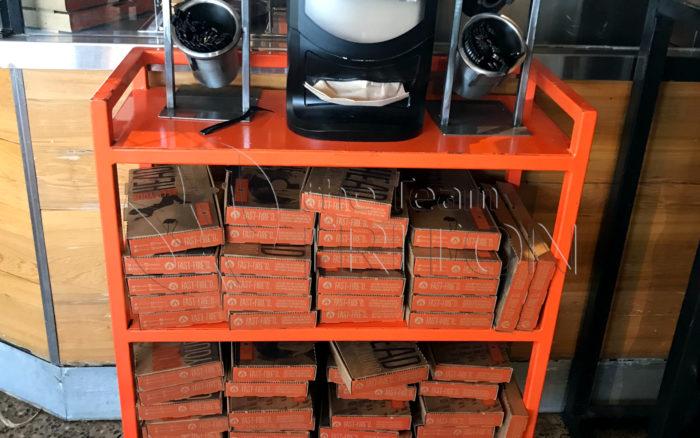 Blaze Pizza Take-out Box