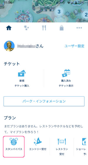 TDR App Reservation System Stand-by Pass